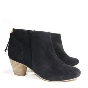 Seychelles Black Booties  Suede Ankle Boots
